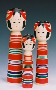 福島市の伝統民芸品 土湯こけし