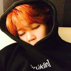 Jiminie always sleeps like this