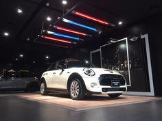 Custom Color with European White Oak flooring.   Location: BMW Showroom, Taiwan.