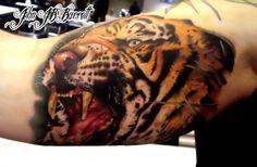 Saber Tooth Tiger Tattoo