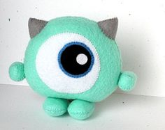 This listing is for a PDF file that can be downloaded and printed immediately after purchase. For assistance in downloading, please visit https://www.etsy.com/help/article/3949?ref=help_search_result  --  Peek-a-boo! Do you see me? This chibi monster may only be 10 cm (4 inches) tall, but dont underestimate how cuddly it is.  The PDF file comes with a materials and tools list, nifty stitch tutorials, full-size pattern pieces, and easy-to-follow colored instructio...