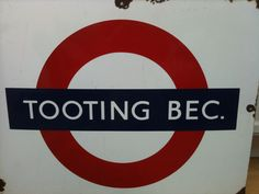 TOOTING BEC TUBE STATION | TOOTING | WANDSWORTH | LONDON | ENGLAND: *London Underground: Northern Line*