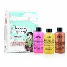Philosophy Shampoo, Shower Gel and Bubble Bath Set (Sugar Chick, Chocolate Bunny and Frosted Cookie) $25.00