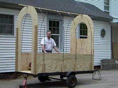 So awesome! Diy Gypsy wagon