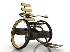 if I should ever become paralyzed - I have to have this beautiful wheelchair.