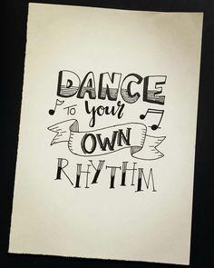 Dance to your own rhythm. Day 14/31 of the #letteringchallenge from dutchlettering and marijketekent . . . #dutchlettering #letterart #lettering #modernlettering #handletteren #letters #handlettering #handlettered #handgeschreven #handdrawn #handwritten #creativelettering #creativewriting #creatief #typography #typografie #moderncalligraphy #handmadefont #handgemaakt #sketch #doodle #draw #tekening #illustrator #illustration #typespire #dailytype #quote #dance