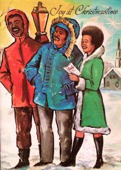 Vintage 1960s Christmas Greeting Card
