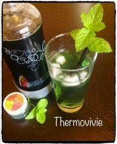 Sirop de menthe au thermomix  - Thermovivie