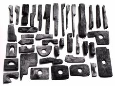 Display of Decker pottery wooden tools, largely from Paul Finkels collection click now for info. Ceramic Supplies, Ceramic Tools, Clay Tools, Ceramic Clay, Ceramic Pottery, Hand Tools, Old Pottery, Pottery Tools, Pottery Wheel
