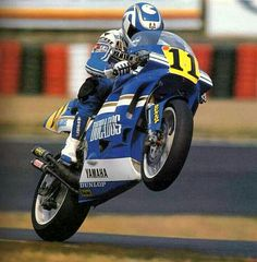 Juan Garriga (Yamaha YZR-500) Suzuka 1990
