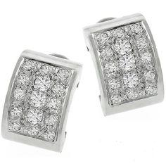 2.50ct_Diamond_Gold_Earrings | New York Estate Jewelry | Israel Rose