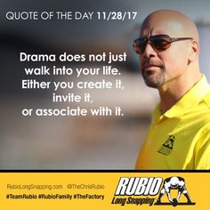 Quote of the Day! #TeamRubio #RubioFamily #TheFactory