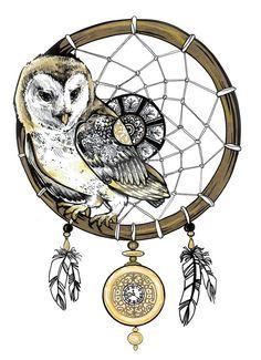Owl Dream Catcher by LoveFromSam on DeviantArt