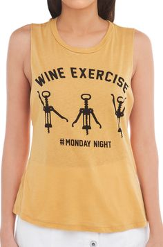 Wine exercise top
