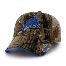 NFL Detroit Lions Realtree Xtra MVP Adjustable Hat