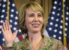 """U.S. Rep. Gabrielle Giffords, D-Arizona, was shot in the head in a mass shooting on Jan. 8, 2011, by Jared Lee Loughner, while holding a constituents meeting outside.  Miraculously, she survived and has recovered most of the way.  This is a """"before"""" photo of her. .........(from source) Gabrielle Giffords Shot"""
