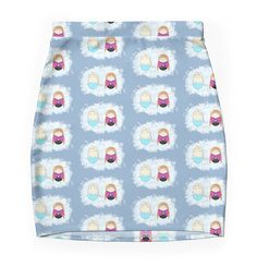 """""""Frozen Tiggles"""" Pencil Skirts by LaurasLovelies 