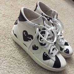 04363831172b5 Comme Des Garcons Converse NO TRADES! 9 10 condition Comme des Garcons  Shoes Sneakers