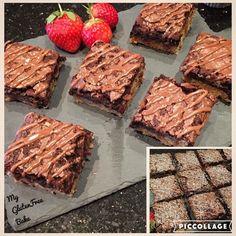 #glutenfree Cheeky Brownies  peanut butter base and choc chip top! #peanutbutter #brownie #chocolate #glutenfreebaking #glutenfreefood #glutenfreefollowme #bake #nothealthy #nowheat #glutenfreelife #gloobyfood #glutenfreedessert #dessert #glutenfreebake #glutenfreetreat #nogluten #nowheat #instafood #glutenfreerecipe #glutenfreecooking #glutenfreeeats by my_glutenfree