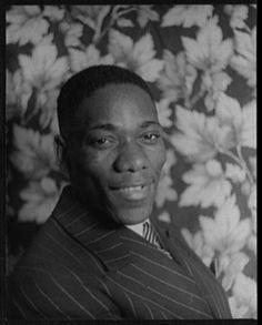 Van Vechten's Portrait of Oscar Polk. 1934