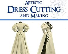 59 Victorian DRESS SEWING PATTERNS Design Your Own by HowToBooks