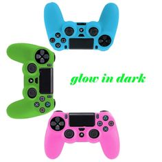 $3.24 (Buy here: https://alitems.com/g/1e8d114494ebda23ff8b16525dc3e8/?i=5&ulp=https%3A%2F%2Fwww.aliexpress.com%2Fitem%2F2017-2pieces-lot-Glow-in-Dark-Gamepads-For-PS4-Controller-Silicone-Protective-Skin-Case-Cover-Blue%2F32773849673.html ) 2017 2pieces/lot Glow in Dark Gamepads For PS4 Controller Silicone Protective Skin Case Cover Blue/Green/Pink for just $3.24