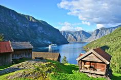 Costa Luminosa passes Otternes Art Prints For Sale, Cruise Ships, Otter, Norway, Travel Photography, Europe, Cabin, In This Moment, Fine Art