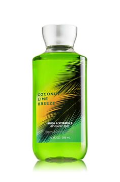 Coconut Lime Breeze Shower Gel - Signature Collection - Bath & Body Works $13.00