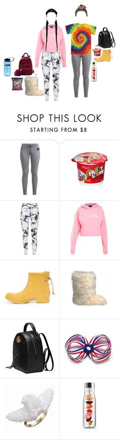 """""""back 2"""" by thottieb ❤ liked on Polyvore featuring NIKE, Camp, Varley, Sperry, UGG Australia, Gucci and Eva Solo"""