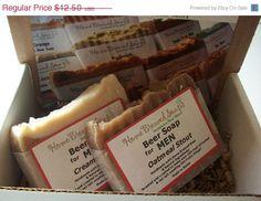 Mens Beer Soap Gift SetGifts for Menunique by HomeBrewedSoaps, $11.25