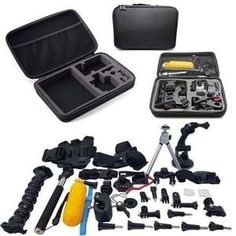 55 In 1 Combo Starter Kit Bundle For Gopro And Action Cameras