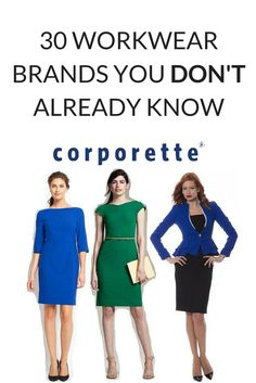 Every professional woman shops at Ann Taylor, J.Crew, and Banana Republic for workwear — but what other options are there? I'm always inspired to see the number of workwear fashion start-ups and independent brands specializing in an aspect of workwear.