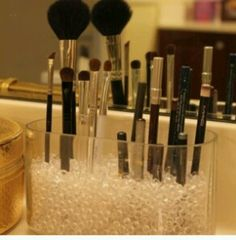 A Good Way To Keep You Makeup Products Within Easy Reach And It Also Looks Good Any Where