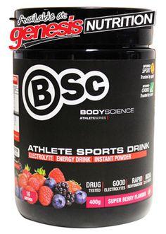 BSC Athlete Sports Drink - Bodyscience! - New to Genesis - Specials - Shop Online @ www.genesis.com.au