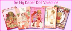 """lots of scans of out of print paper dolls, incl. """"friends around the world"""" - use with school or just for fun"""