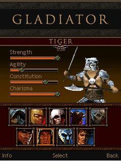 Juego JAR gladiator para celular