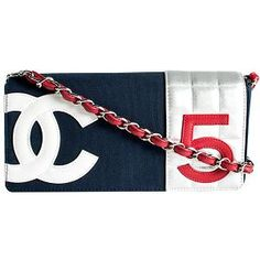 "#Chanel ""No. 5"" Small Flap Shoulder Handbag"