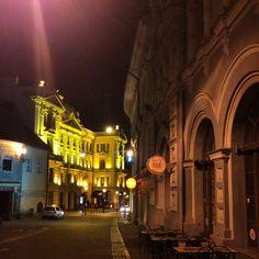 着いた旧市街が美しい町 Night. Center of #Vilnius in #Lithuania #lithuaniatravel #travel #travelgram