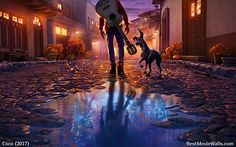 #Miguel and #Dante walking to the Land of the Dead :]   #Pixar's #Coco #wallpapers in hd @BestMovieWalls