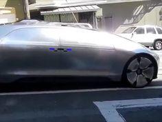 مرسيدس تطلق سيارة F015 ذاتية الحركة في كاليفورنيا - صورة ٢