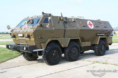 ambulance based on a  Tatra