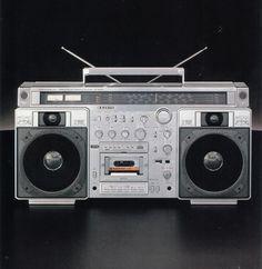 SANYO Radio Antigua, Hi End, Hifi Audio, Boombox, Audiophile, Radios, Japanese, Technology, History
