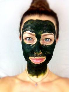 TRICK: Pumpkin Chlorella Beauty Mask | Holistically Fit