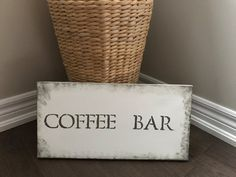 Hey, I found this really awesome Etsy listing at https://www.etsy.com/ca/listing/473826006/coffee-collection-hand-painted-faux-wood