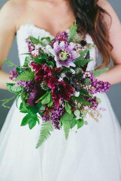 Bright, fun bouquet: http://www.stylemepretty.com/michigan-weddings/2015/02/17/winter-florals/ | Photography: Mioara Dragan - http://www.mioaradragan.com/