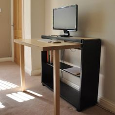 Folding Desk — Shoebox Dwelling | Finding comfort, style and dignity in small spaces