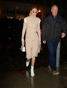 Model Gigi Hadid is seen in Soho on February 7 2018 in New York City