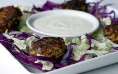 Low Fodmap falafel with yogurt tahini (just omit the garlic, or sub a little garlic oil).