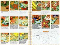 caminho de jardim feito mosaico - Pesquisa Google