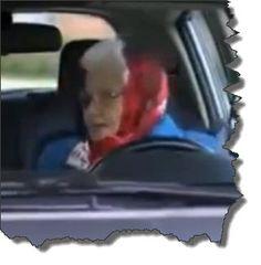 Oma kann einparken